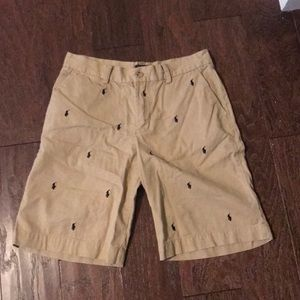 Kid's Polo Patterned Shorts
